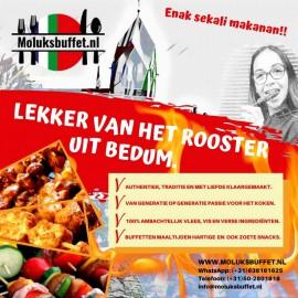 Makreel Grillen Op De Barbecue Moluksbuffet Bedum
