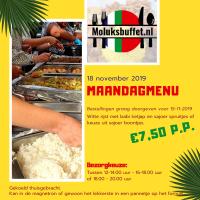 Maandag 18 november maaltijd